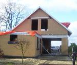 Casa pré-fabricada, casa de campo modular de aço clara, casas modulares da casa pré-fabricada para o escritório