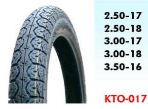 China Motorcycle  Tyre  , 3.50-16,3.00-18,3.00-17,2.50-18,2.50-17 on sale