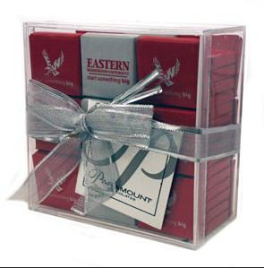 China Environmental acrylic display case , acrylic gift case with lid on sale