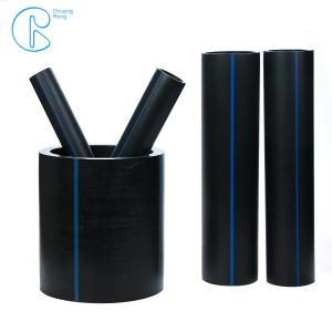 China Pn16 Pe100 Water High Density Polyethylene Pipe With Compressure Fittings on sale