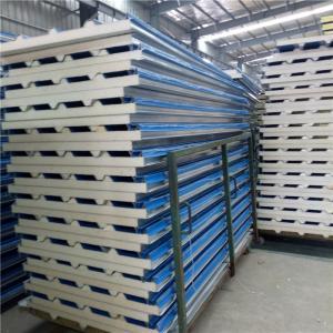 insulated 0 376mm polyurethane foam sandwich roof panel used
