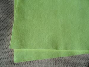 China 静かに非編まれた布/非編まれたポリエステル生地の等方性強さ緑化して下さい on sale