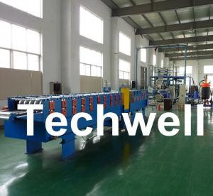 China Automatic Continuous PU Sandwich Panel Machine For Prefab House, Mobile House TW-PU1000 on sale