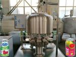 Stainless Steel Tin Can Filling Machine Commercial Fruit Juice Making Machine