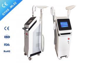 Quality FDA IPL SHR Hair Removal Machine RF + SHR + Nd Yag Laser 3S Skin Tightening for sale