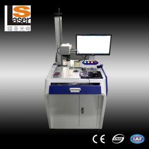 China Altas máquinas eficientes de la marca del laser de la fibra para la madera de goma plástica de los metales on sale
