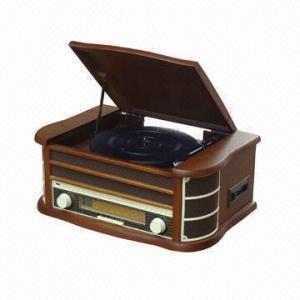 China Radio retra de madera del estilo con USB y la codificación, casete, CD, funciones del reproductor Mp3 on sale