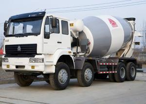 China Durable Industrial Concrete Mixer Vehicle 8×4 High Running Efficiency on sale