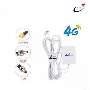 China Low Price 4G 12dbi 2X TS9 mimo antenna ABS panel antenna  For 4G HUAWEI ZTE USB modem on sale