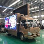 Mobile Billboard LED Advertising Truck Display P4 P5 P6 For Road Show