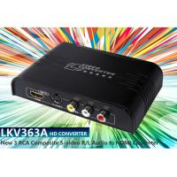 LKV363A Multi-system Pal to NTSC Analog New RCA Composite or S-Video To HDMI Converter