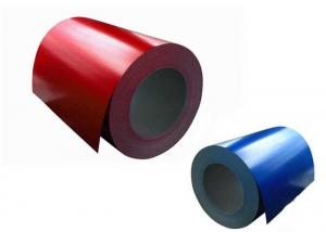 China Pvdf Coating Painted Aluminium Coil , Appliance Panel Aluminum Sheet Roll on sale