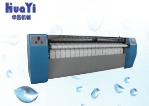 China Stainless Steel Roller Sheet Ironing Machine For Laundry Shop on sale
