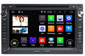 China Quad Core 2 Din Car GPS Navigation System For 1996 - 2006 Old Volkswagen B5 Jetta Polo Bora Jolf on sale