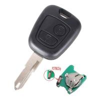 PEUGEOT 206 433MHZ 2 Buttons NE73 Blade Remote Key Fob Controller With PCF7961 Transponder Chip