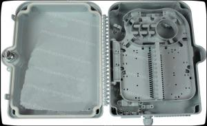 China 24 Cores plastic outdoor  Fiber Optic distribution Box with IP class 65 on sale