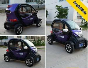 China 72V 1000W / 1200W / 1500W Brushless Motor Electric Passenger Car With Four Wheels on sale