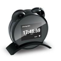 Hidden Camera | New large screen night vision clock, infrared light night vision mirror