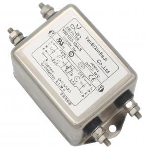 China 110v 220v Single Phase RFI Filter For Cooling Conditioner Equipment on sale