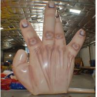 Fire resistant Giant Inflatable Single Hand Decoration with 5 fingers