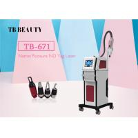 China 4 Heads Nd Yag Laser Tattoo Removal Machine ,  Acne / Scar / Pigment Removal on sale
