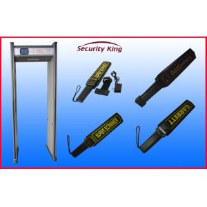 China Subway Station Security Check Portable Metal Detector with Sensitivity Adjuster on sale