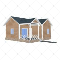 China Residential - (Heya-Q01) China light gauge steel house light gauge steel prefab home construction on sale