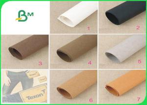 China New Type Kraft Fabric DIY Art Washable Kraft Paper Fabric with 0.55mm Thickness on sale