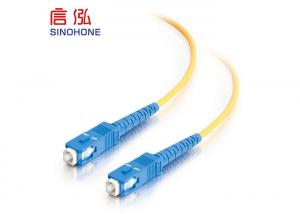 China Gigabit Ethernet LC Fiber Optic Cable , Simplex Fiber Optic Cable on sale