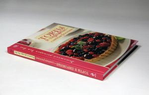 China Casebound Cookbook Printing With Sewning , Recycled Cardboard Paper on sale
