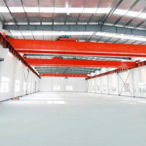 China 20T 30T European Style Double Girder Overhead Crane For Lifting Steel Billet on sale