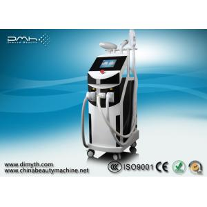 China Q Switch ND YAG Laser Tattoo Removal Machine With IPL For Hair Removal on sale