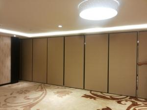 China Ballroom Sliding Folding Partition Modular Acoustic Room Dividers Customized Color on sale