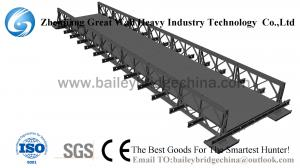 China CB321(CB100) SS Bailey Bridge From China,steel bridge,prefabricated bridge,steel structure on sale