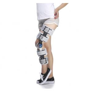 China Adjustable Hhinged Knee Brace Support Patellar Fracture Posture Corrector Knee Protect on sale