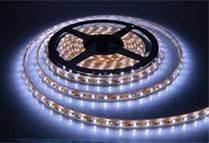 China Waterproof White Color 3528 SMD LEDS Strip Light With 60 LEDS For Bridge Edge Lighting on sale