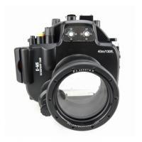 "Meikon IPx8"" equivalent underwater waterproof camera case for Olympus EM5"