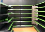 Adjustable Grocery Display Racks 30kg / Layer Easy To Assemble And Dismantle