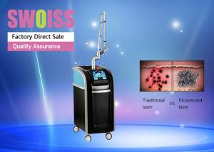 China Q Switch Laser Tattoo Removal Machine , Laser Yag Machine For Dermatic Treatment on sale