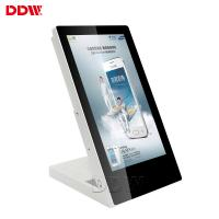 China hot 15.6 inch table top advertising display for cafe 700 nits 1920x1080 Android system