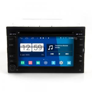 China 2DIN android car dvd android 4.4.4 HD 1024*600 for VW GOLF4/B5 with 4 Core CPU, Mirror link on sale