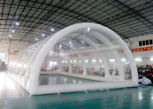China High Grade Warranty Inflatable Building Structures , Clear Inflatable Tent on sale