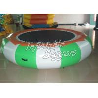 Trampoline Rental Inflatable Water Sports Games For Swimming Pool , Puncture-Proof