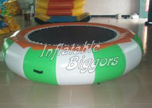 China Trampoline Rental Inflatable Water Sports Games For Swimming Pool , Puncture-Proof on sale
