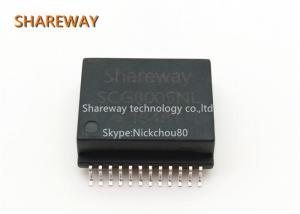 China Single Port 10G Ethernet Lan Transformer FTG0015-SG 24 Pins Black Color For HDBasr-T on sale