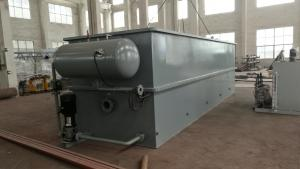 China Industry Sewage Treatment DAF Machine , Dissolved Air Flotation For Water Clarification on sale