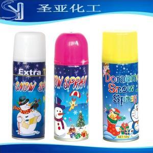 China snow spray/party foam snow spray on sale