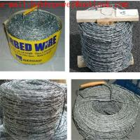 Twisted Fence Wire, Barbed Tape, Barbed Wire Fence /Hot Dipped Galvanized(250g/m2 zinc) Barbed Wire Mesh Fencing