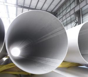 Sch 10 TP310/310s Austenitic Thin Wall Stainless Steel Welded Pipes Large Diameter & Sch 10 TP310/310s Austenitic Thin Wall Stainless Steel Welded Pipes ...