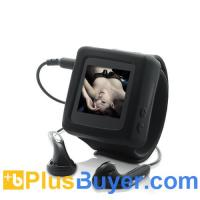 Timesnap - 1.5 Inches MP4 Player Watch (FM Radio, Recording, 4GB)